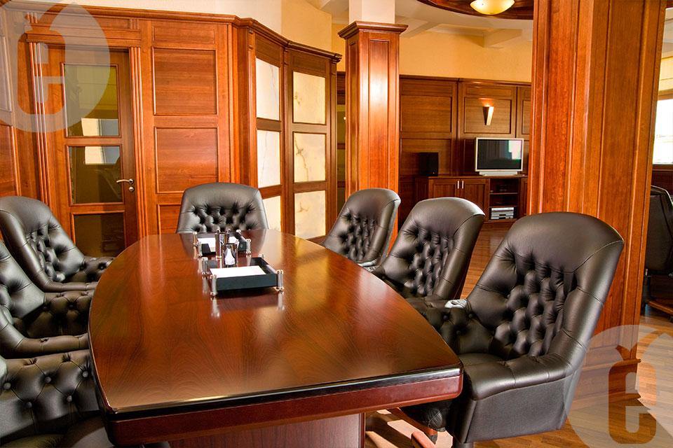 Декоративные панели в кабинет