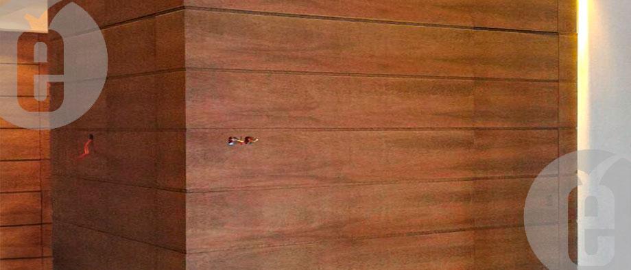 Панели в шпоне эвкалипт-помело