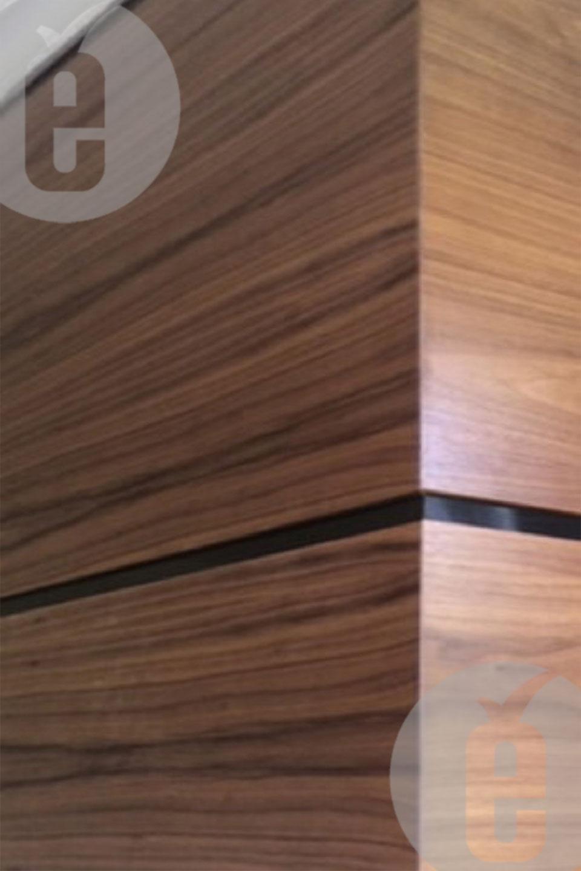 Стеновые панели шпон американский орех