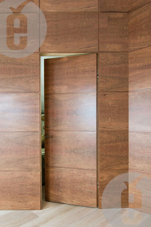 Стеновые панели со скрытой дверью