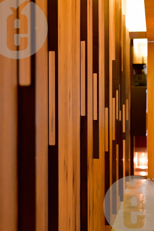 Интерьерные стеновые панели узелковый дуб