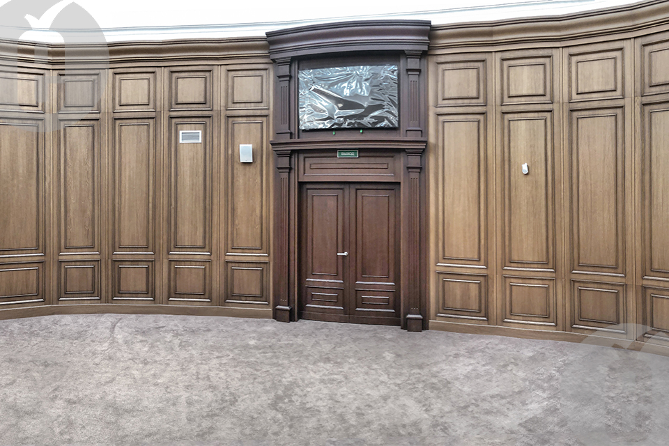 Декоративные стеновые панели для Арбитражного суда