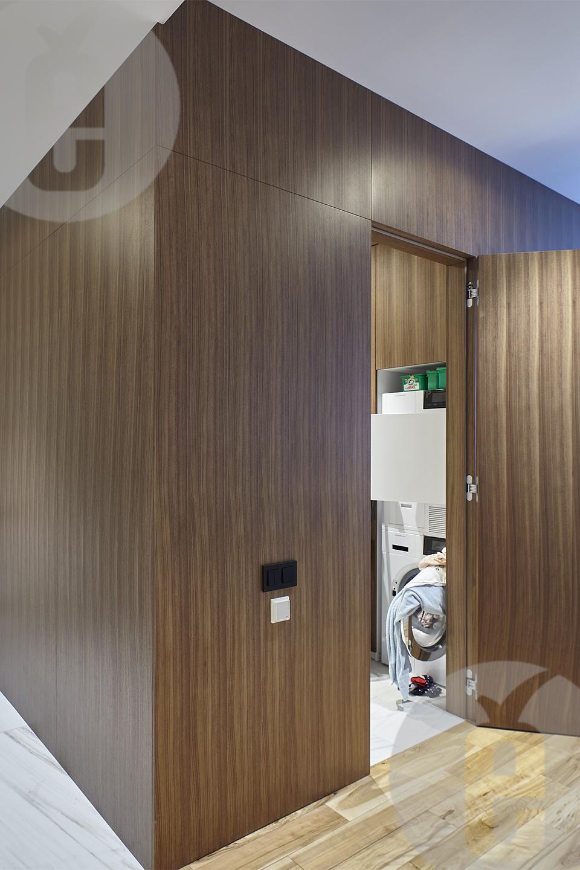 Декоративные панели для стен в шпоне американского ореха