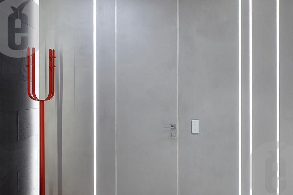 Стеновые панели МДФ дуб тонированный для современного интерьера