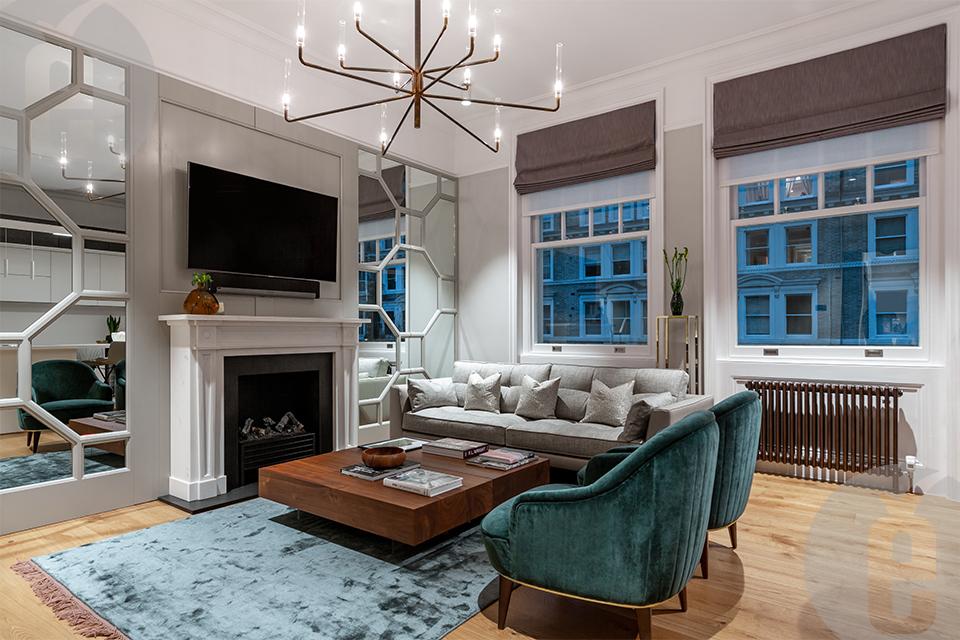 Дизайнерские стеновые панели МДФ: фото апартаментов в Лондоне