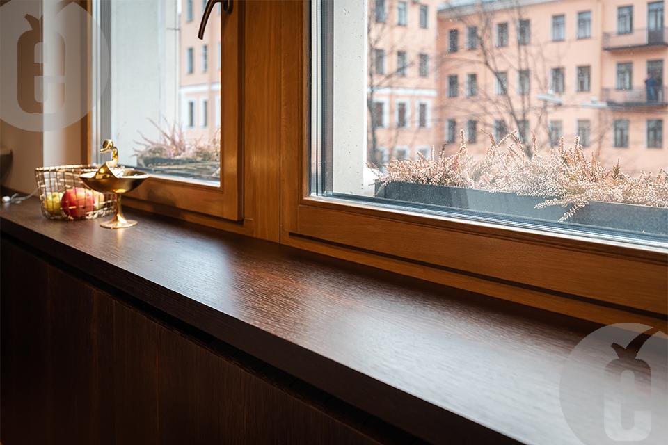 Панели для радиаторов: интересное решение для кухни-гостиной